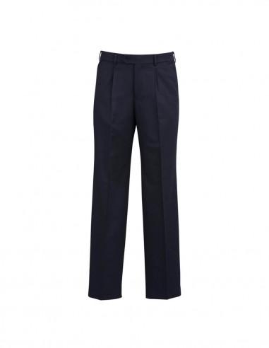 BCO-70111S - Mens One Pleat Pant Stout - Biz Corporates