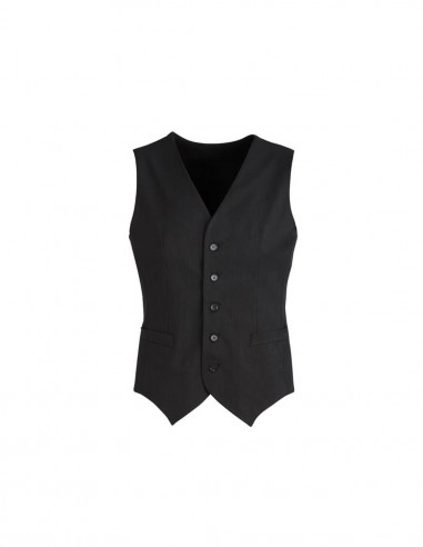 BCO-90111 - Mens Peaked Vest with Knitted Back - Biz Corporates