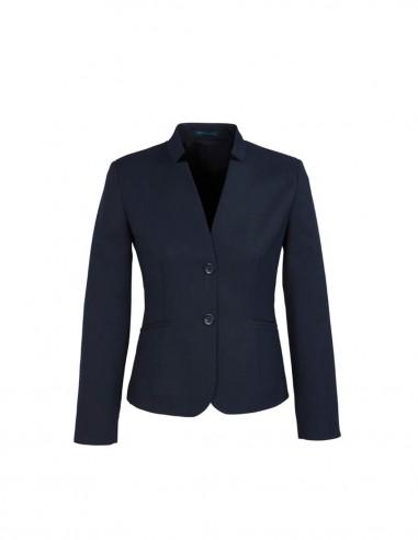 BCO-60113 - Womens Short Jacket with Reverse Lapel - Biz Corporates