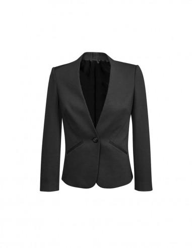 BCO-61610 - Womens Collarless Jacket - Biz Corporates