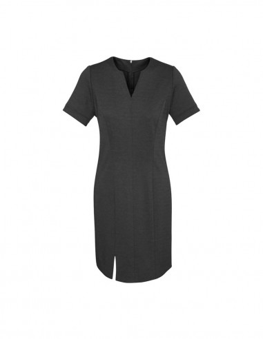 BCO-30620 - Womens Open Neck Dress - Biz Corporates
