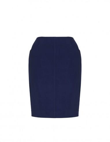 BCO-20717 - Womens Bandless Pencil Skirt - Biz Corporates