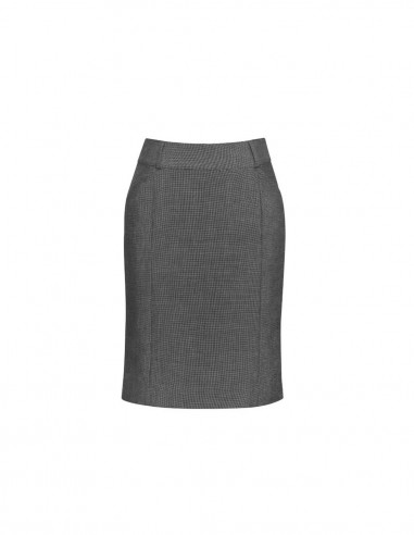 BCO-20316 - Womens Panelled Skirt with Rear Split - Biz Corporates