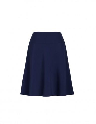 BCO-20718 - Womens Bandless Flared Skirt - Biz Corporates