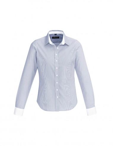 BCO-40110 - Womens Fifth Avenue Long Sleeve Shirt - Biz Corporates