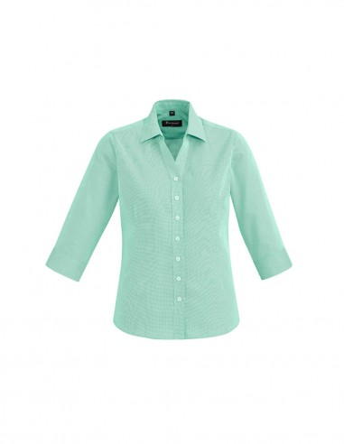 BCO-40311 - Womens Hudson 3/4 Sleeve Shirt - Biz Corporates