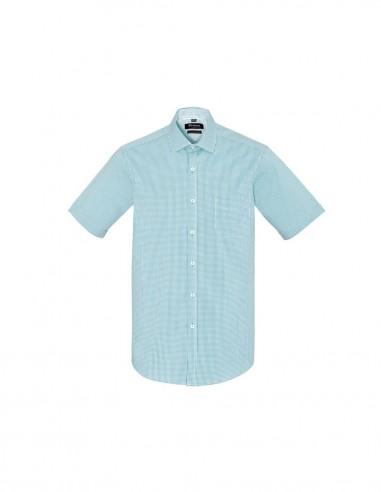BCO-42522 - Mens Newport Short Sleeve Shirt - Biz Corporates