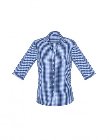 BCO-43411 - Womens Springfield 3/4 Sleeve Shirt - Biz Corporates