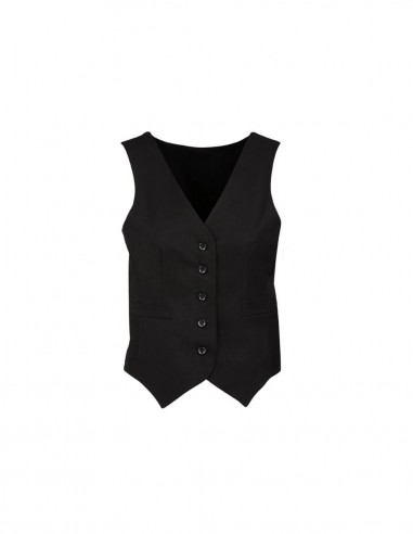 BCO-50111 - Womens Peaked Vest with Knitted Back - Biz Corporates