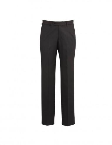 BCO-70112S - Mens Flat Front Pant Stout - Biz Corporates