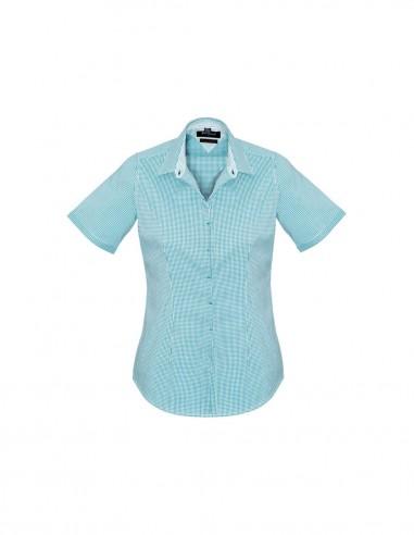 BCO-42512 - Womens Newport Short Sleeve Shirt - Biz Corporates