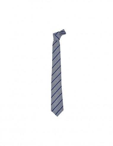 BCO-99102 - Mens Single Contrast Stripe Tie - Biz Corporates