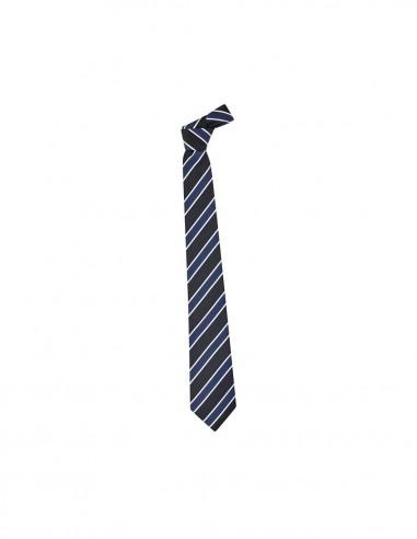 BCO-99103 - Mens Wide Contrast Stripe Tie - Biz Corporates