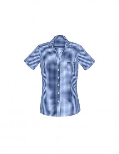 BCO-43412 - Womens Springfield Short Sleeve Shirt - Biz Corporates