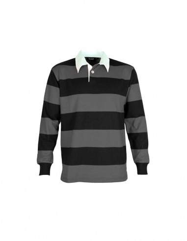 AC-RJS - Striped Rugby Jersey - Aurora